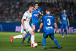 Fuenlabrada Fran Garcia and Real Madrid Lucas Vazquez during Copa del Rey match between Fuenlabrada and Real Madrid at Fernando Torres Stadium in Madrid, Spain. October 26, 2017. (ALTERPHOTOS/Borja B.Hojas)