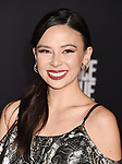 HOLLYWOOD, CA - NOVEMBER 13: Actress Malese Jow arrives at the Premiere Of Warner Bros. Pictures' 'Justice League' at the Dolby Theatre on November 13, 2017 in Hollywood, California.