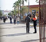 Centro de Estancia Temporal de Inmigrantes, centre for temporary immigrants, Melilla, Spain, north Africa