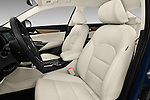 Front seat view of 2017 KIA Cadenza Premium 4 Door Sedan Front Seat  car photos