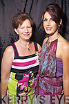 Noreen Houlihan Finuge and Catherine Keane Listowel at the Rose of Tralee Fashion Show at the Dome on Sunday Night.