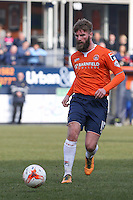 Patrick McCourt of Luton Town during the Sky Bet League 2 match between Luton Town and Crawley Town at Kenilworth Road, Luton, England on 12 March 2016. Photo by David Horn/PRiME Media Images.