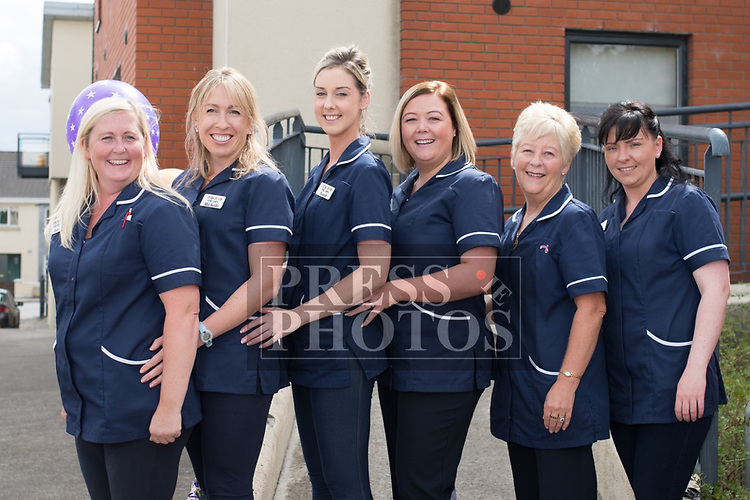Staff: Ann Duff, Michelle Hughes, Sarah Durkin, Karen Coyne, Linda Mullen & Tara Byrne at the official opening of Little Stars Montessori in Duleek. Photo:Colin Bell/pressphotos.ie