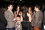 Guests mingling after the Sheena Trivedi Spring Summer 2014 collection fashion show, at Hotel Chantelle on October 21, 2013.