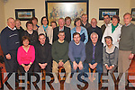 CHRISTMAS ALERT: Member's of Ballymac Community Alert having a great time at their Christmas party at O'Riada's bar restaurant on Friday seated l-r: Florence Ahern, Fr Pat Crean Lynch, Rico Stein (Chairperson), Fionna?n Fitzgerald (Secretary), Pat Dowling (PRO) and Sylvia Thompson. Back l-r: Tim O'Donoghue, Mary Collins, Angela Linehan, Esther McCarthy, Geraldine Stein, Eileen Cronin, Maurice Byrnes, Trish Horan, Kathleen Herlihy, John O'Connor, John Cronin, John Rice, Kathleen O'Neill and John Dreelan.   Copyright Kerry's Eye 2008