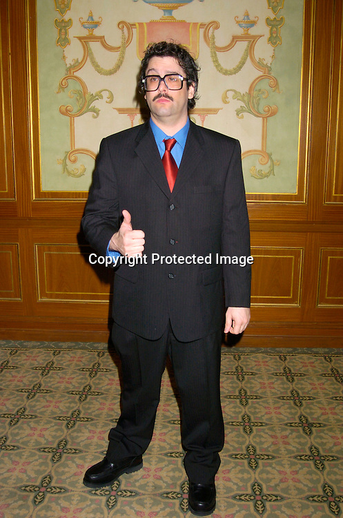 Judah Friedlander ..at The Writers Guild of America Annual Awards ceremony on February 21, 2004 at the Pierre Hotel.               Photo by Robin Platzer, Twin Images