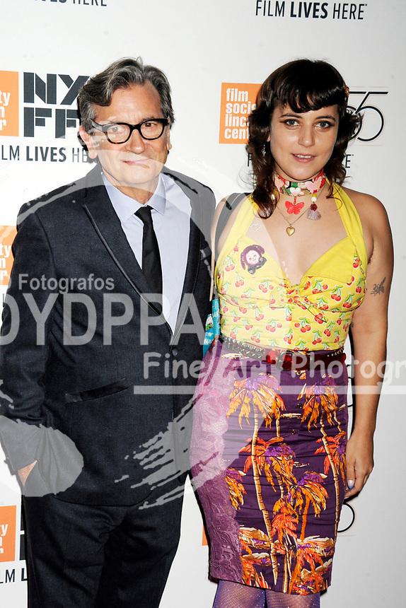 Griffin Dunne mit Tochter Hannah Dunne bei der Premiere von 'Joan Didion: The Center Will Not Hold' auf dem 55. New York Film Festival in der Alice Tully Hall. New York, 11.10.2017