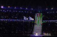 OLYMPIC GAMES: PYEONGCHANG: 09-02-2018, PyeongChang Olympic Stadium, Olympic Games, Opening Ceremony, Sumi Hwang (Korean Opera Singer), ©photo Martin de Jong