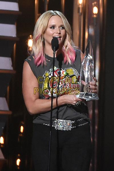 4 November 2015 - Nashville, Tennessee - Miranda Lambert. 49th CMA Awards, Country Music's Biggest Night, held at Bridgestone Arena. <br /> CAP/ADM/LF<br /> &copy;LF/ADM/Capital Pictures