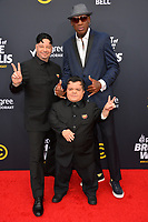 LOS ANGELES, CA - July 14, 2018: Jeff Ross &amp; Dennis Rodman at the Comedy Central Roast of Bruce Willis at the Hollywood Palladium<br /> Picture: Paul Smith/Featureflash.com