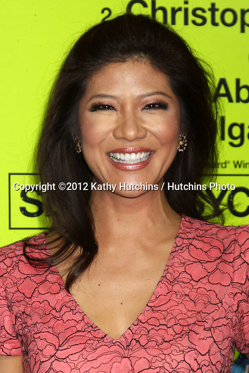 """LOS ANGELES - OCT 30:  Julie Chen  at the """"Seven Psychopaths"""" Premiere at Bruin Theater on October 30, 2012 in Westwood, CA"""