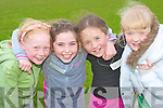 Taking part in the Community Games in The Sports Field Ballybunion on Friday evening were Niamh Stack, Reene Cooke, Orla Mulvihill and Sarah Long   Copyright Kerry's Eye 2008