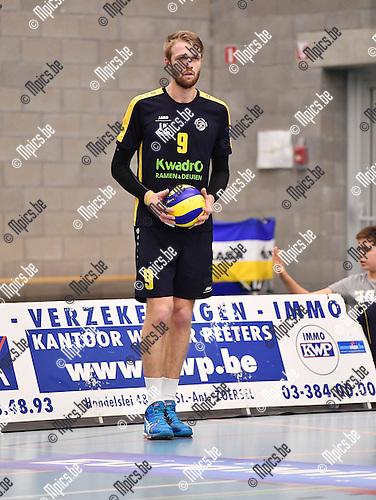 2016-10-14 / Volleybal / Seizoen 2016-2017 / Amigos Zoersel / Jeroen Oprins<br /> <br /> ,Foto: Mpics.be