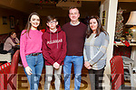 Michelle Conway from Blennerville celebrating her birthday with her family in the Brogue Inn on Sunday evening. <br /> L-r, Shauna, Steven, Richie and Michelle Conway.