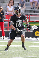 College Park, MD - May 14, 2017: Bryant Bulldogs Tom Forsberg (18) in action during the NCAA first round game between Bryant and Maryland at  Capital One Field at Maryland Stadium in College Park, MD.  (Photo by Elliott Brown/Media Images International)
