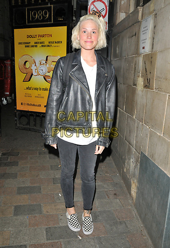 """Natalie McQueen at the """"9 To 5 The Musical"""" theatre cast stage door departures, Savoy Theatre, The Strand, London, England, UK, on Friday 31st May 2019.<br /> CAP/CAN<br /> ©CAN/Capital Pictures"""