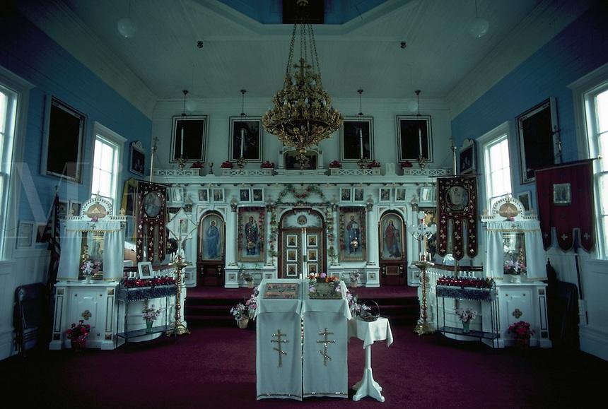 Saints Peter and Paul Orthodox Church,  St. Paul Island, Pribilof Islands, Alaska