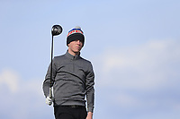 Jack Doherty (Carton House Golf Club) during the first round of matchplay at the 2018 West of Ireland, in Co Sligo Golf Club, Rosses Point, Sligo, Co Sligo, Ireland. 01/04/2018.<br /> Picture: Golffile | Fran Caffrey<br /> <br /> <br /> All photo usage must carry mandatory copyright credit (&copy; Golffile | Fran Caffrey)
