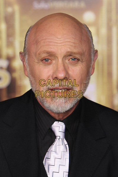 "Hector Elizondo.The World Premiere of ""New Year's Eve' held at The Grauman's Chinese Theatre in Hollywood, California, USA..December 5th, 2011.headshot portrait black white tie beard facial hair.CAP/CEL .©CelPh/Capital Pictures."