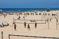 Beach Volleyball Courts Huntington Beach California