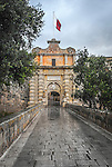 Entrance to the old town of Mdina in Malta.