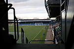 Southend United 1 Burton Albion 1, 22/02/2016. Roots Hall, League One. The view from the south stand towards the north and main stands at Roots Hall stadium, pictured before Southend United took on Burton Albion in a League 1 fixture. Founded in 1906, Southend United moved into their current ground in 1955, the construction of which was funded by the club's supporters. Southend won this match by 3-1, watched by a crowd of 6503. Photo by Colin McPherson.