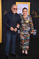 "LOS ANGELES, CA. September 24, 2018: Gloria Estefan & Emilio Estefan at the Los Angeles premiere for ""A Star Is Born"" at the Shrine Auditorium.<br /> Picture: Paul Smith/Featureflash"