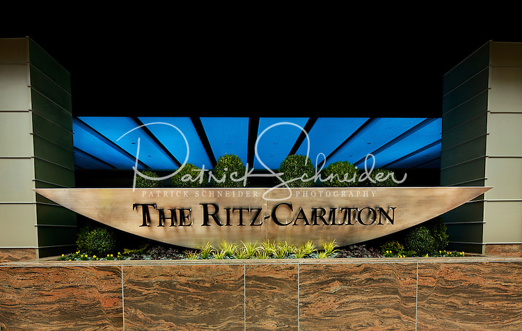 Photograph of the Charlotte Ritz Carlton Hotel - Lee Construction.
