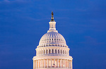 Washington DC; USA: The dome of the Capitol Building, legislative branch of the US government.Photo copyright Lee Foster Photo # 3-washdc82947