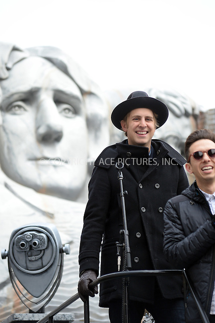 www.acepixs.com<br /> <br /> November 24 2016, New York City<br /> <br /> Ben Rector made an appearance at the 90th Annual Macy's Thanksgiving Day Parade on November 24, 2016 in New York City.<br /> <br /> By Line: Kristin Callahan/ACE Pictures<br /> <br /> <br /> ACE Pictures Inc<br /> Tel: 6467670430<br /> Email: info@acepixs.com<br /> www.acepixs.com