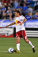 Sinisa Ubiparipovic...Kansas City Wizards were defeated 3-0 by New York Red Bulls at Community America Ballpark, Kansas City, Kansas.