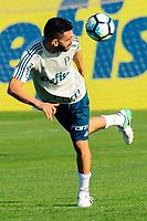 SÃO PAULO,SP, 27.07.2017 - FUTEBOL-PALMEIRAS – Bruno Henrique durante o treino na Academia de Futebol, no bairro da Barra Funda, nesta quarta-feira (27). (Foto: Laryssa Borges/Brazil Photo Press)