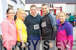 Pictured at the Carers 10k run on Sunday were l-r: Ciara Coffey (Ballinorig) Bridget O'Regan (Millstreet) Michael Brouder (Limerick) James Coakley (Ballinorig) and Sinead Coffey (Tralee).