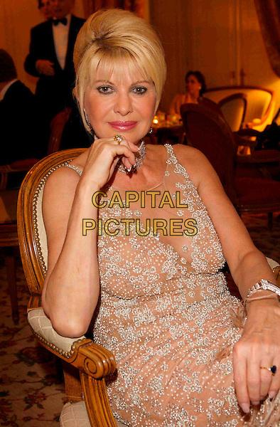 Ivana Trump, The Best 2007 Gala, 31. Ausgabe, Hotel Le Bristol, Paris, Frankreich, 9. Dezember 2007, Foto: Jens Hartmann/People Picture