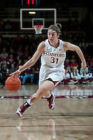 STANFORD, CA - JANUARY 6: Toni Kokenis  at Maples Pavilion, January 6, 2011 in Stanford, California.