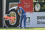 Seung-yul Noh tees off on the 15th hole during the Final Day of the Dubai World Championship, Earth Course, Jumeirah Golf Estates, Dubai, 28th November 2010..(Picture Eoin Clarke/www.golffile.ie)