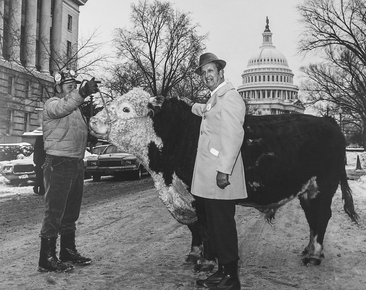 Rep. Keith Sebelius, R-Kans., 1st Kansas Leon Riffel, enterprise, Ks (owner) King George. (Photo by CQ Roll Call)