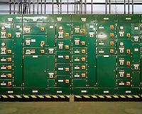 Power supply regulator for Humanities 1 Reading Room,.Basement 1, Zone 7,.British Library, 2007