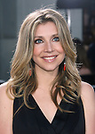 "Hollywood, CA - June 25: Sarah Chalke arrives at the Los Angeles premiere of ""Bruno"" at the Grauman's Chinese Theatre on June 25, 2009 in Hollywood, California."