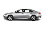 Car Driver side profile view of a 2018 Lexus ES 300h 4 Door Sedan Side View
