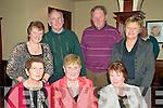 Benefit Dance: Attending the Seamus Kelly Benefit  dance held in th Devon Inn, Templeglantin on Saturday night were in front; Eileen Mulcahy, Helen Collins & Kit Kelly. Back: Kathleen Mulcahy, Con Mulcahy, Timmy Collins & Marion Browne.