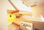 Patient in MRI scanner