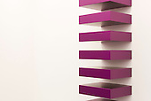 London, England. 15 October 2014. Untitled 1988 by Donald Judd, David Zwirner Gallery. Fine art fair Frieze Masters 2014 in Regent's Park, London. Photo: Bettina Strenske