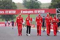 16th July 2020, Hungaroring, Budapest, Hungary; F1 Grand Prix of Hungary, drivers arrival and track inspection day;  5 Sebastian Vettel GER, Scuderia Ferrari Mission Winnow, Budapest Hungary