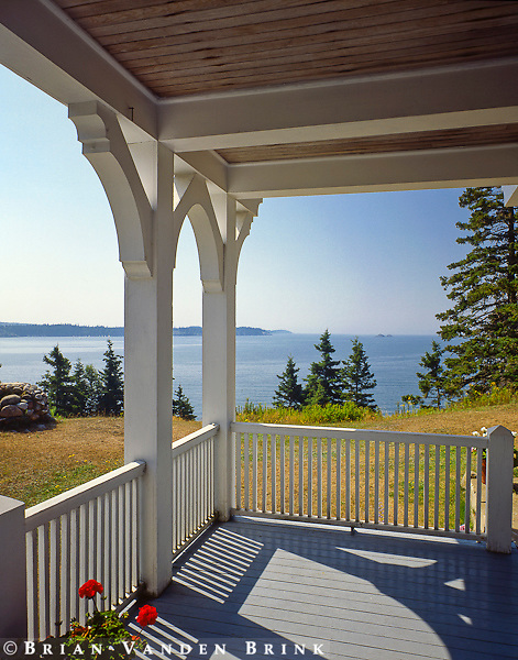 Porch, North Haven, Maine
