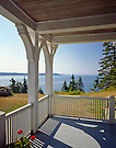 Porch, North Haven, Maine