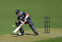 Tim Seifert scoops. Twenty20 International cricket match between NZ Black Caps and England at Westpac Stadium in Wellington, New Zealand on Sunday, 3 November 2019. Photo: Dave Lintott / lintottphoto.co.nz