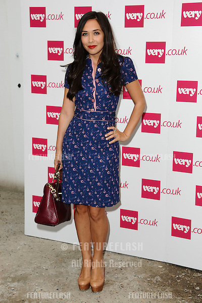 presenter, Myleene Klass.arrives at the Fearne Cotton's Spring Summer 2012 range show for Very.co.uk, London.19/09/2011  Picture by Steve Vas/Featureflash