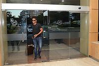 RIO DE JANEIRO-09/07/2012-Jogador Danilo se apresenta a Selecao Brasileira de Futebol no Hotel Sheraton, Lelblon, na zona sul do Rio.Foto:Marcelo Fonseca-Brazil Photo Press