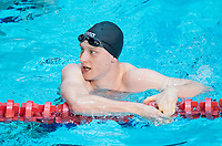 Picture by Allan McKenzie/SWpix.com - 13/12/2017 - Swimming - Swim England Winter Championships - Ponds Forge International Sport Centre - Sheffield, England - Luke Greenbank takes gold in the Mens Open 100m backstroke.00m freestyle.